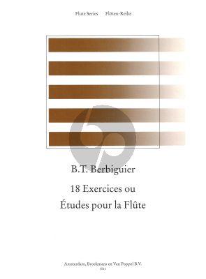 18 Studies for Flute