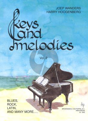 Wanders Hoogenberg Keys & Melodies Vol.2 Grade 1 - 2 for Piano Solo