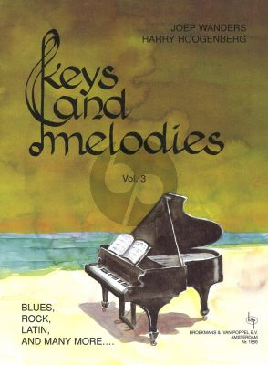Wanders Hoogenberg Keys & Melodies Vol.3 Grade 3 for Piano Solo