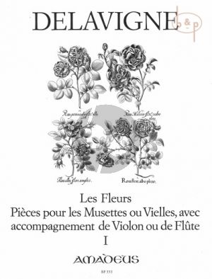 Delavigne Les Fleurs Op. 4 Vol. 1 2 Blockflöten (Querflöten, Oboen oder Violinen) (Winfried Michel)