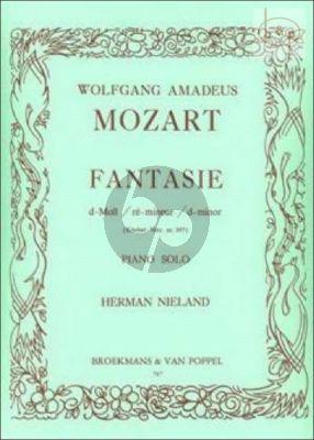 Fantasy d-minor KV 397 Piano solo
