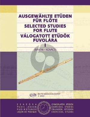 Selected Studies Vol. 1 for Flute (edited by Vilmos Bántai andGábor Kovács)