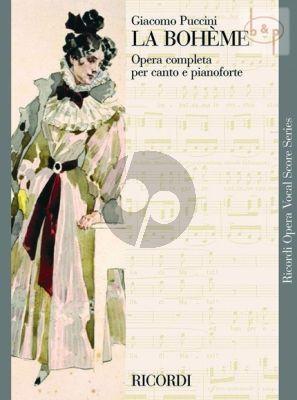 La Boheme Vocal Score (it.)