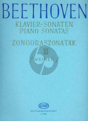 Sonatas Vol.3 Piano