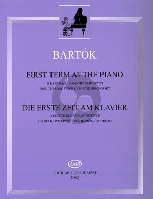 Bartok The First Term at the Piano