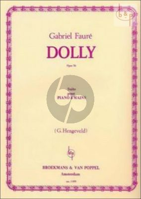Dolly Op.56 Piano 4 hds.