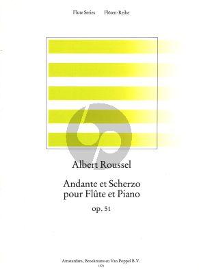 Andante et Scherzo Opus 51 Flute-Piano