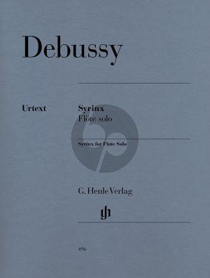 Debussy Syrinx Flote allein (Heinemann) (Henle-Urtext)