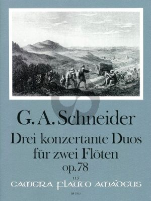 3 Konzertante Duos Op.78 2 Flutes