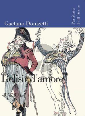 Donizetti L'Elisir d'Amore Full Score