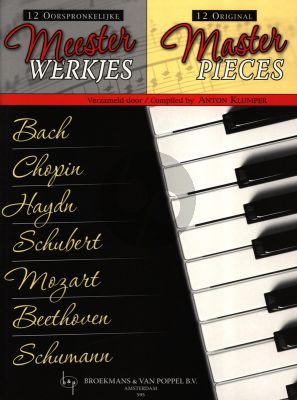 12 Original Master-Pieces for Piano