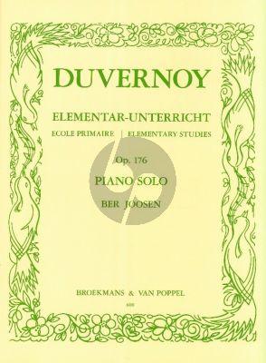 Duvernoy 25 Elementary Studies Op.176 Piano (Ber Joosen)