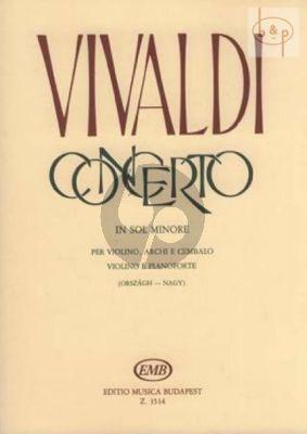 Concerto G-minor
