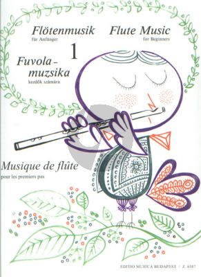 Flute Music for Beginners Vol. 1 (edited by Vilmos Bántai and Imre Kovács)