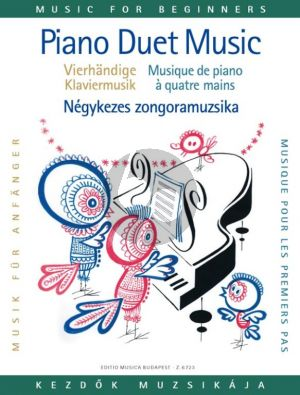 Piano Duet Music for Beginners (edited by Károly Váczi)