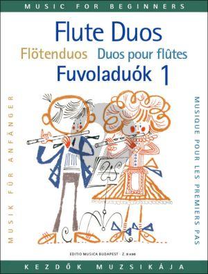 Flute Duets for Beginners Vol. 1 (edited by László Csupor)