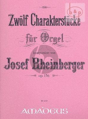 12 Charakterstücke Op.156