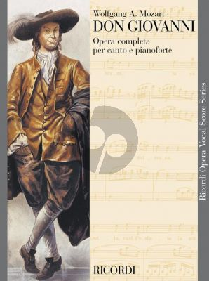 Mozart Don Giovanni Vocal Score (it.)
