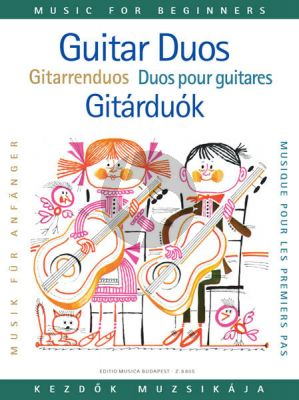 Guitar Duos (Music for Beginners Series) (Edited by Miklós Mosóczi)