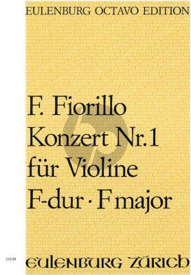 Konzert No.1 F-dur Violine und Orchester