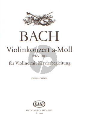 Concerto a-minor BWV 1041 Violin-Piano