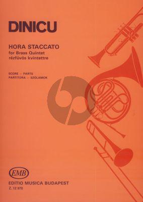Dinicu Hora Staccato Brass Quintet (Score/Parts) (arr. Antal Farkas)