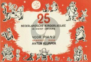 25 Nederlandse Kinderliedjes Piano solo