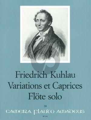 Variations et Caprices Op.10 Flute Solo