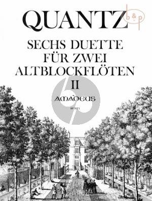 6 Duette Op.2 Vol.2 (No.4 - 6) (QV 3:2.4 - 2.6)