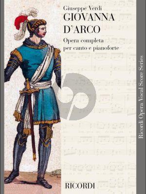 Verdi Giovanna d'Arco Vocal Score (it.)