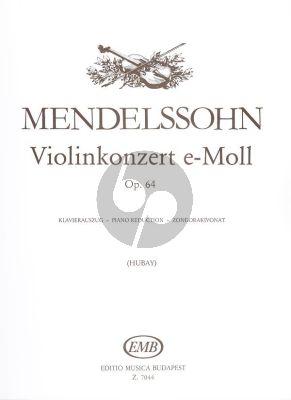 Mendelssohn Violin Concerto E-minor Op.64 (Jeno Hubay)
