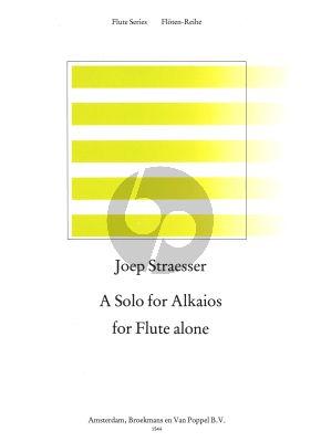 A Solo for Alkaios Flute solo