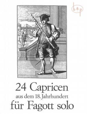 24 Capricen aus dem 18.Jahrhundert Album