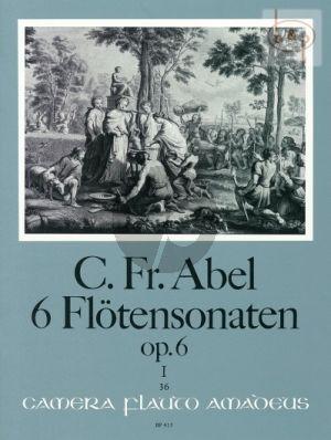 6 Sonaten Op.6 Vol.1 (No.1 - 3) (Flute-Bc)