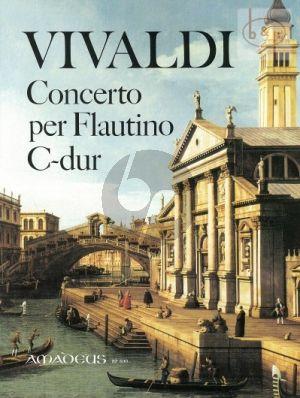 Vivaldi Concerto C-dur RV 443 Op.44/11 (Flautino [Altblfl.]-Streicher-Bc) )(Ka.) (Winfried Michel)