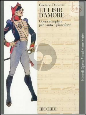 L'Elisir d'Amore Vocal Score (ital.)
