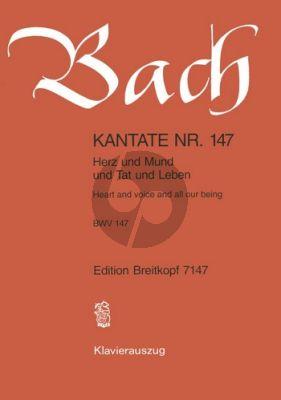 Kantate No.147 BWV 147 - Herz und Mund und Tat und Leben (Heart and Voice and all our being)