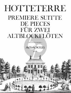 Hotteterre Premiere Suitte de Pieces Op.4