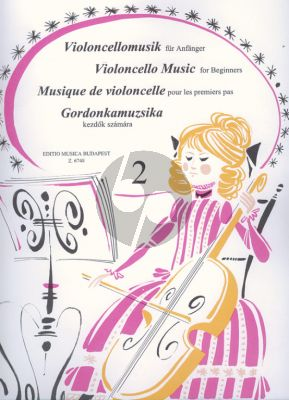 Violoncello Music for Beginners Vol.2