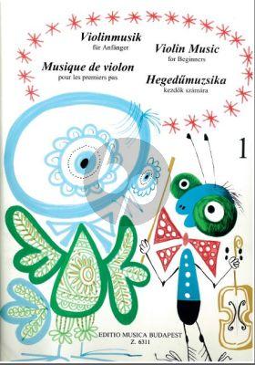 Violin-Music for Beginners Vol.1