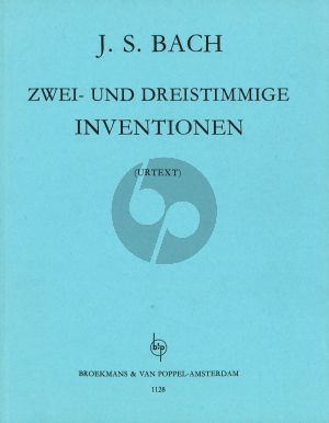 Bach 2 and 3 Part Inventions BWV 772 - 801