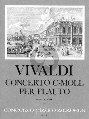 Concerto c-moll RV 441 Altblockflöte-Streicher-Bc Partitur