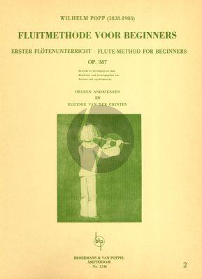 Method for Beginners Op.387 Vol.2 Flute