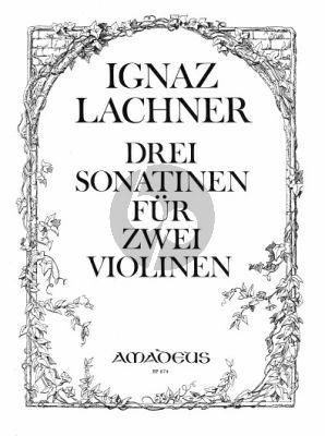 Lachner 3 Sonatinen Op.96 - 97 - 982 Violinen (Stimmen) (Bernhard Pauler)