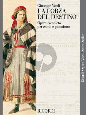 Verdi La Forza del Destino Vocal Score (it.)
