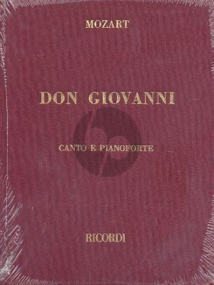 Mozart Don Giovanni Vocal Score (Hardcover)