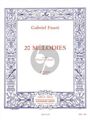20 Melodies Vol.2 Voix Moyenne