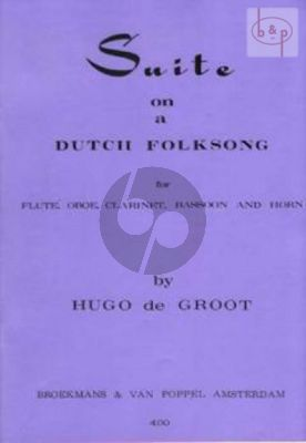 Variation Suite on an Old Dutch Folksong