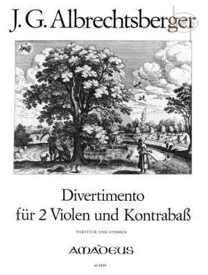 Divertimento D-dur (2 Va.-Kb.)
