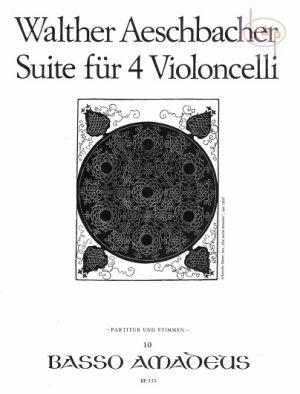 Suite Op.44 (4 Vc.)